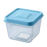 スマイルキッズ ふたがトングになる保存容器 ATN-01MB ミントブルー│保存容器 タッパー