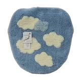 丸隆 サニーデー 洗浄・暖房フタカバー 雲柄