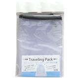 丸隆 防水 巾着袋 トラベリングパック 半透明