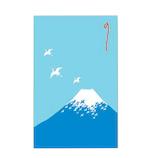 【年賀用品】 チキュウグリーティングス ぽち袋 富士山 K200−31 5枚入