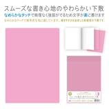 オリオンズ カラーソフト下敷 CSS−B5 ピンク
