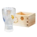 アデリア ザプレミアムニッポンテイスト 枡酒グラスセット 6691 雪兎│酒・ワイングッズ 徳利・猪口