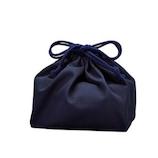 HAKOYA クレンゼ 抗菌巾着袋 33701 ネイビー│お弁当箱 お弁当袋・ランチベルト
