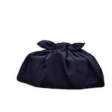 HAKOYA クレンゼ 抗菌おべんとう袋(あづま袋) 33704 ネイビー│お弁当箱 お弁当袋・ランチベルト