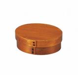 HAKOYA 小判一段弁当 木製 大スリ漆 50142│お弁当箱 弁当箱