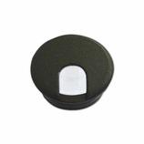モリギン 配線孔キャップ 丸型 S-60黒