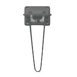 モリギン ブラック丸棒脚 6×180規格│工具箱・脚立 脚立・台車