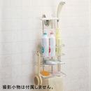 ベルカ ステンレスシャワーラック3段 FH-315│お風呂用品・バスグッズ シャンプーラック・バスラック