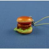 末武 食品サンプルストラップ ハンバーガー