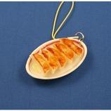 末武 食品サンプルストラップ 皿付き餃子