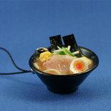 末武 食品サンプルストラップ みそラーメン