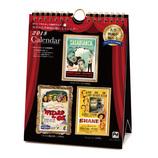 【2018年版・卓上】 APJ 世界の名作映画が観られるカレンダー ポストカード卓上 256