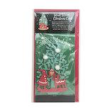 【クリスマス】APJ ウッドスタンド クリスマスカード 1000102190 サンタ&トナカイ