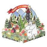 アートプリントジャパン ムーミン ポップアップカード 1000108206 散歩│カード・ポストカード バースデー・誕生日カード