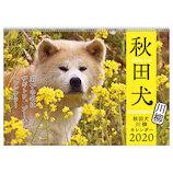【2020年版・壁掛】アートプリントジャパン カレンダー 秋田犬 1000109230