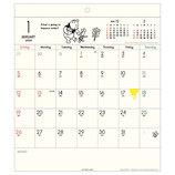 【2020年版・壁掛】アートプリントジャパン カレンダー ホワイトボード 1000109415 くまのプーさん