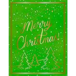 【クリスマス】アートプリントジャパン ハニカムミニカード グリーン