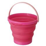 ソフトバケツ 8型 ピンク