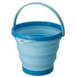 ソフトバケツ 8型 ブルー