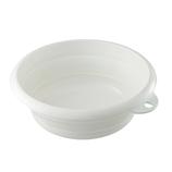 伊勢藤 ソフト湯おけ ホワイト│お風呂用品・バスグッズ 洗面器・風呂桶