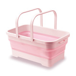 伊勢藤 ソフトバスケット I-581 ピンク│洗濯用品 洗濯板・洗濯手洗いブラシ