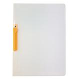 セキセイ クリップインファイル A4 SSS‐105 オレンジ│ファイル クリップファイル・用箋挟