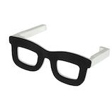 八幡化成 バッグハンガーグラス(Bag Hanger Glasses) ブラック&ホワイト│旅行便利グッズ