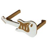 八幡化成 バッグハンガーギター(Bag Hanger Guitar) ホワイト&ベージュ