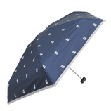 CHAM CHAM MARKET 遮光晴雨兼用ミニ傘 ラディッシュ ネイビー│レインウェア・雨具 折り畳み傘