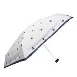 CHAM CHAM MARKET 遮光晴雨兼用ミニ傘 ラディッシュ ホワイト│レインウェア・雨具 折り畳み傘