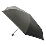 hands+ 全天候型簡単開閉折傘2 55cm ブラック│レインウェア・雨具 折り畳み傘