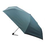 hands+ 全天候型簡単開閉折傘2 55cm ターコイズ│レインウェア・雨具 折り畳み傘