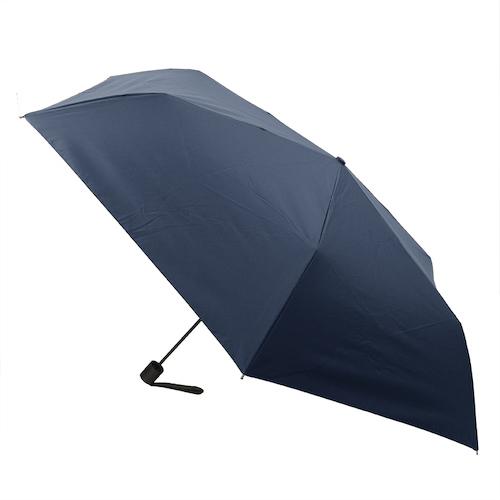 hands+ 全天候型簡単開閉折傘2 60cm ネイビー│レインウェア・雨具 折り畳み傘