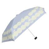 CHAM CHAM MARKET 遮光晴雨兼用ミニ傘 アップル サックス│レインウェア・雨具 折り畳み傘