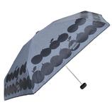 CHAM CHAM MARKET 遮光晴雨兼用ミニ傘 アップル ネイビー│レインウェア・雨具 折り畳み傘