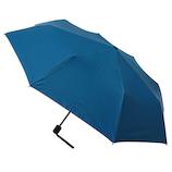hands+ 全天候型簡単開閉折りたたみ傘 55cm ターコイズ