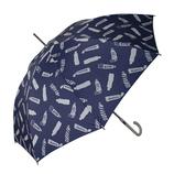 チャムチャムマーケット(CHAM CHAM MARKET) 長傘 チューブ ネイビー│レインウェア・雨具 傘
