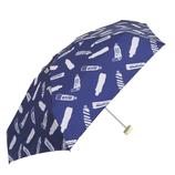 CHAM CHAM MARKET ミニ雨傘 チューブ ネイビー│レインウェア・雨具 折り畳み傘