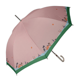 チャムチャムマーケット(CHAM CHAM MARKET) 長傘 Lets'Go To market ピンク│レインウェア・雨具 傘