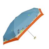 CHAM CHAM MARKET ミニ雨傘 Let's Go To market ターコイズ│レインウェア・雨具 折り畳み傘