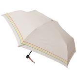 アーノルドパーマー×東急ハンズ 折傘 55cm 裾ボーダーピンク│レインウェア・雨具 日傘