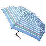 アーノルドパーマー×東急ハンズ 折傘 55cm ボーダーブルー│レインウェア・雨具 日傘