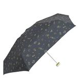 CHAM CHAM MARKET ミニ雨傘 ネオン ブラック│レインウェア・雨具 折り畳み傘