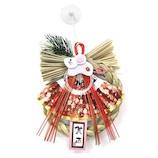 【正月】 お正月リース飾り 干支花リース 102 しめ飾り(子)