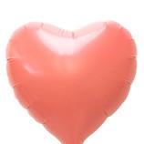 キッシーズ ピュアカットバルーン LFタイプ ハート 10cm 01660 コーラルオレンジ│パーティーグッズ 風船・バルーン