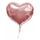 キッシーズ ピュアカットバルーン LFタイプ ハート 20cm 01743 パールピンク│パーティーグッズ 風船・バルーン