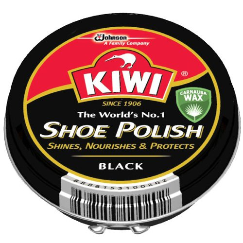 KIWI 油性靴クリーム中缶 黒 45ml