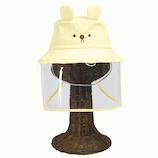 コジット 飛沫対策ガード帽子(こども用) イエロー