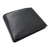 プレリートラディショナルファクトリー イタリーレザー 二つ折り財布 ブラック