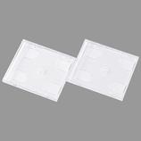 サンワサプライ CD・DVDプラケース W3枚 FCD-2L